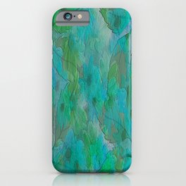 Painterly Summer Morning Floral Abstract iPhone Case