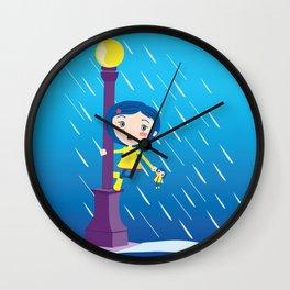 Singin' in the rain Wall Clock