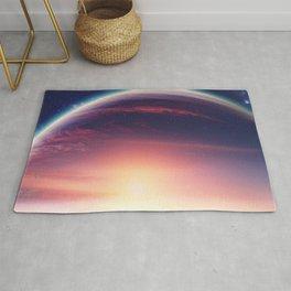 Jupiterian sunset Rug