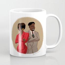 Maxine Shaw and Kyle Barker / Living Single Coffee Mug