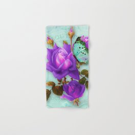 Victoria in Purple Hand & Bath Towel
