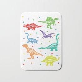 Dinosaur Childrens Kids Triceratops T-Rex Tyrannosaurus Rex Bath Mat