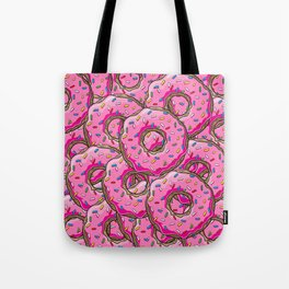 You can't buy happiness, but you can buy many donuts! Tote Bag