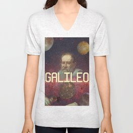 Visions of Galileo Unisex V-Neck