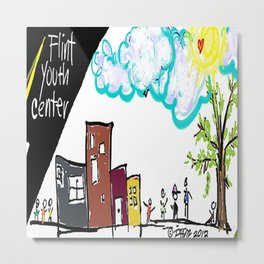 Flint Youth Center Metal Print