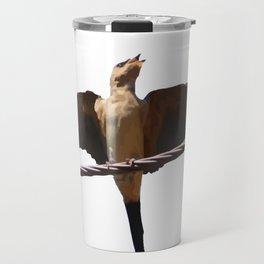 Swallow Song Vector Travel Mug