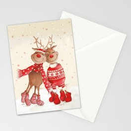 Dancing Elks Stationery Cards