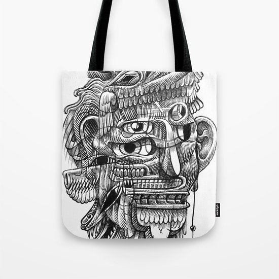 Fright 3 Tote Bag