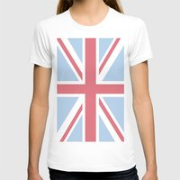 union jack T-shirts featuring Union Jack by Alesia D