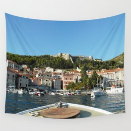 Approaching Land Wall Tapestry