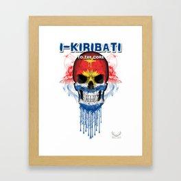 To The Core Collection: Kiribati Framed Art Print