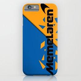 Memelaren Formula 1 iPhone Case