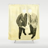 lost Shower Curtains featuring Lost by Cassia Beck