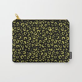 Leopard (golden spots in the dark) Carry-All Pouch