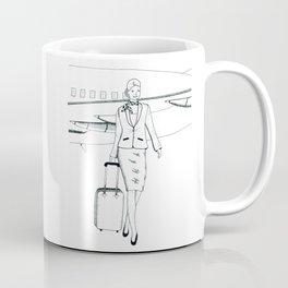 Flight attendant Coffee Mug