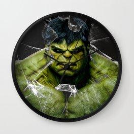Angry HULK  Wall Clock