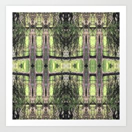 Those Who Live in Grass Houses Art Print