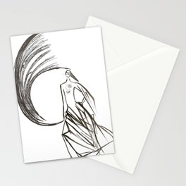 Angel under cover (home photo) Stationery Cards
