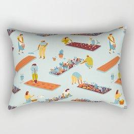 Garden of dreamers Rectangular Pillow
