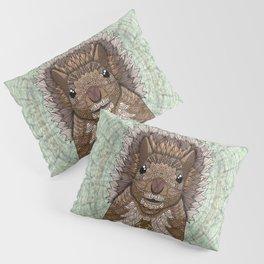 Ornate Squirrel Pillow Sham