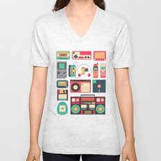 RETRO TECHNOLOGY 1.0 Unisex V-Neck
