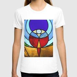 Church window glass T-shirt