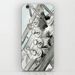 Tuba pistons iPhone Skin