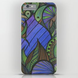 Of Fish and Feathers iPhone Case