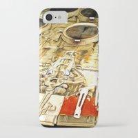 millenium falcon iPhone & iPod Cases featuring Millenium Falcon Body by Ewan Arnolda
