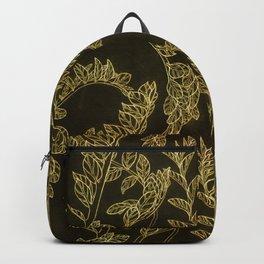 golden school plants Backpack