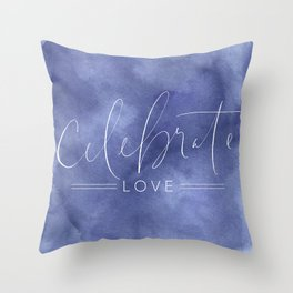 Celebrate Love Throw Pillow