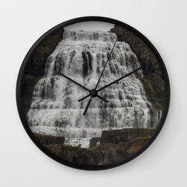 Dynjandi II Wall Clock