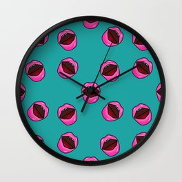 valentines day lisps Wall Clock