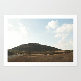 Mount Scott Art Print