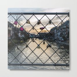 Locked Love Metal Print