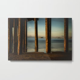 Pier to Pier Harford Pier through Avila Pier San Luis Obispo Metal Print