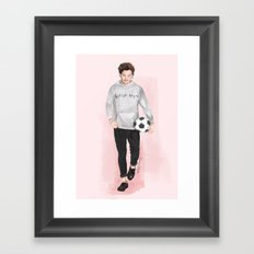 Louis British Rogue Framed Art Print