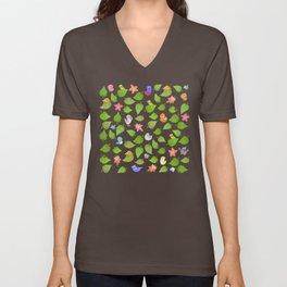 birds&leaves Unisex V-Neck