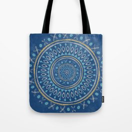Astral Lullaby in Blue Tote Bag