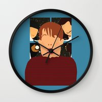 home alone Wall Clocks featuring home alone by Live It Up