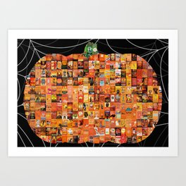 Put the Boo in Bookish Art Print