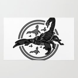 Scorpion GREY 2 Rug