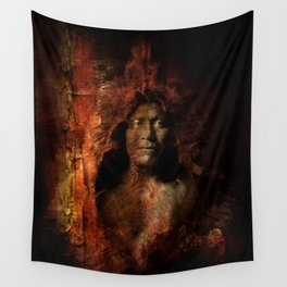 Bears Belly Wall Tapestry