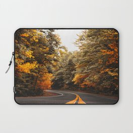 on the road in vermont Laptop Sleeve