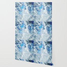 Blue Ocean Glow Wallpaper
