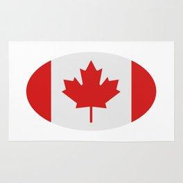 flag canada Rug