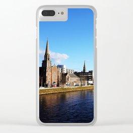 On The Bridge - Inverness - Scotland Clear iPhone Case