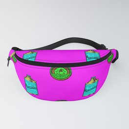 Retro Pattern Clean Fanny Pack