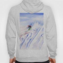 Powder Skiing Hoody