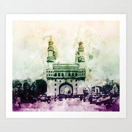 Charminar-Indian Monument Art Print